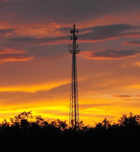 cell-tower-at-sunset